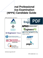 NPPE Candidate Guide August 2017 Update