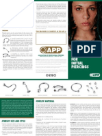 APP Jewelry for INITIAL Piercings