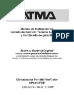 Manual Cp8140fce