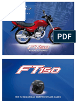 MANUAL USUARIO ITALITA FT 150 CC