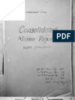 497 Bomb Group, Mission Report 59, Tokyo, Palace Area, May 26, 1945