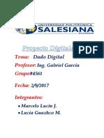 Proyecto Dados de Digitales