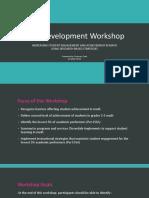 Staff Development Workshop Using Research-Based Strategies