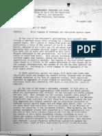 Brief Summary of Strategic Air Operations Against Japan