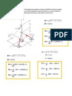 El Poste ABC de 6m de Longitud Está Sometido a Una Fuerza de 455N en La Forma Mostrada en La Figura