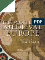 Atlas of Medieval Europe London N Y 1997