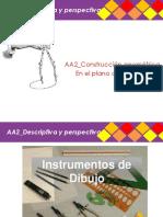 Descriptiva y Perspectiva_AA2_Construcción Geométrica en El Plano Compositivo