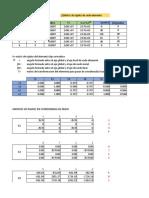 Calculo de desplazamientos por el método de rigideces