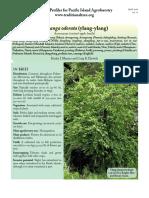 Ylang-Ylang (Descripción General)
