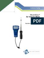 TSI Alnor VelociCalc 9515 Manual
