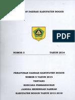 RPJMD Kab Bogor 2013 2018 Finale