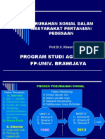 x Mhsw-oke Perubahan Sosial Dalam Masyarakat Pertanian 2010