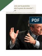 Respuesta de RC Sproul a La Pena de Muerte