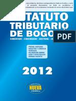 Estatuto Tributario Bogota 2012