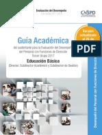 Guia Academica Directores Agosto 2017