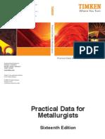Practical Data for Metallurgists, TIMKEN
