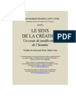 Sens de La Creation