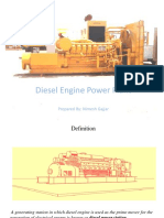 Lecture 1 - Diesel Engine Power Plant