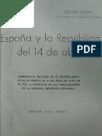 1944 Eduardo Santos - España y la república
