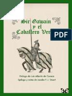 Anonimo - Sir Gawain y El Caballero Verde