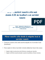 UT5 Copiar Sitio Web Joomla 3.XX de Localhost a Servidor Remoto