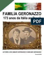 Familia Geronazzo 173 anos da Italia ao Brasil