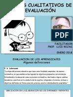 Informes Cualitativos de La Evaluación de Los Aprendizajes