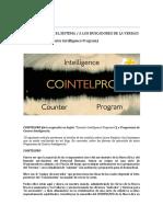 M24 Cointelpro - Programas de Contra-Inteligencia