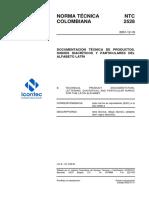 Ntc2528 Letra Tecnica