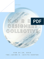 2018 Korea Designers Collective in Coterie