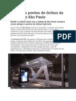 Paraderos en Sau Paulo