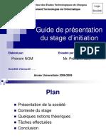 Guide Presentation Initiation