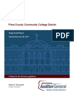 Pima County Community College District June 30, 2017 Single Audit