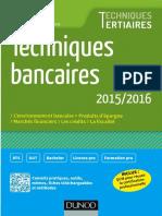 (Techniques Tertiaires) Philippe Monnier, Sandrine Mahier-Lefrançois-Techniques Bancaires 2015_2016-Dunod (2015)