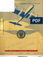 XX Bomber Command, Tactical Doctrine