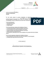 Modelo de Carta-Constancia de Liberación de Funciones