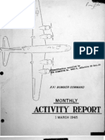 XXI Bomber Command Monthly Activity Reports, March 1945