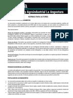 Normas Para Presentacion de Documento Revista Angostura 2017 Ok (1)
