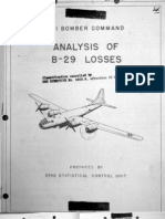 XXI Bomber Command, Analysis of B-29 Losses