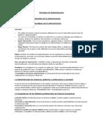 Principios de Administración Apunte Completo