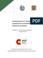 Libro Competencias en TIC y Rendimiento Academico Universidad