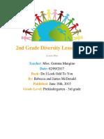 280 diversity lesson plan