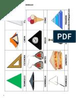 Figuras en Forma de Triangulo