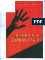 La Empresa Comunitaria, Eduardo Cala Chambi