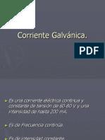 Corriente Galvánica