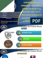 Exposicion Ensayo Contribuacion Sarmap en Armada Ecuador