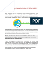 Kriteria Kenaikan Kelas Kurikulum 2013 Revisi 2016