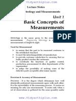 Engineering Metrology   Measurements notes.pdf