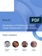 Introduction to Publishing for Ecr in Latam 256267