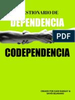 Cuestionario de Dependencia Codependencia